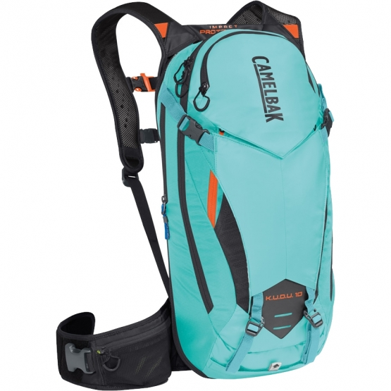 CamelBak K.U.D.U. Protector 10 lake blue-laser orange S/M